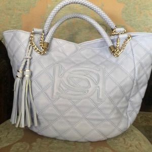 Handbags - Baby blue handbag